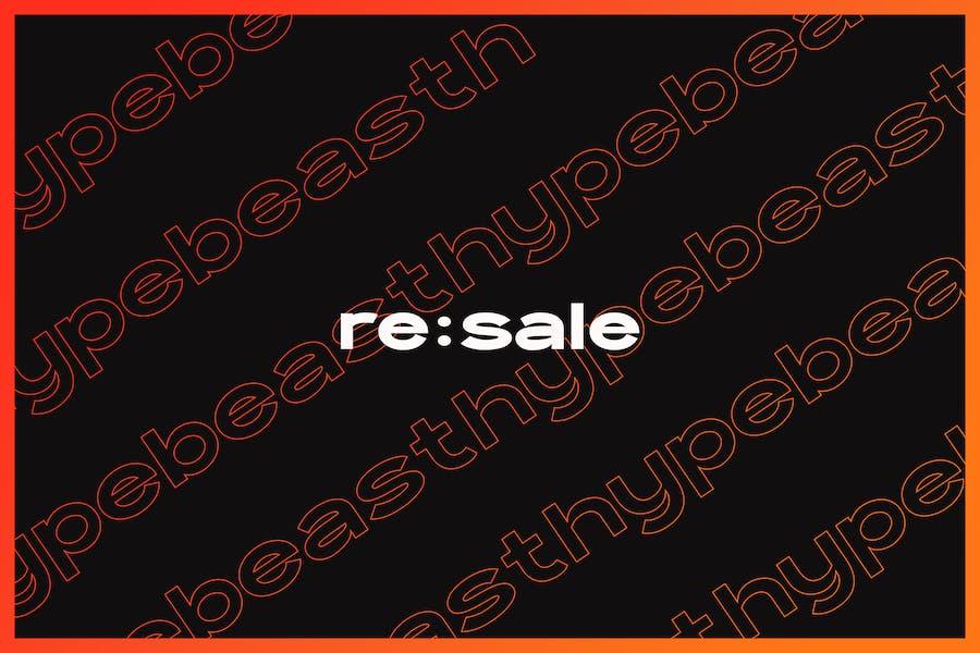 Re:Sale