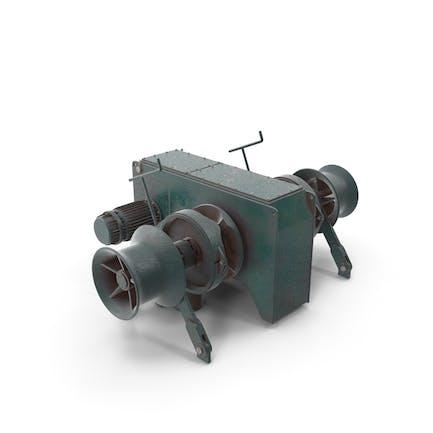 Anchor Windlass Mechanism
