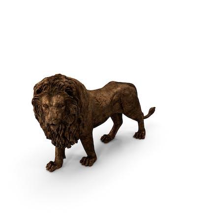 Lion Skulp