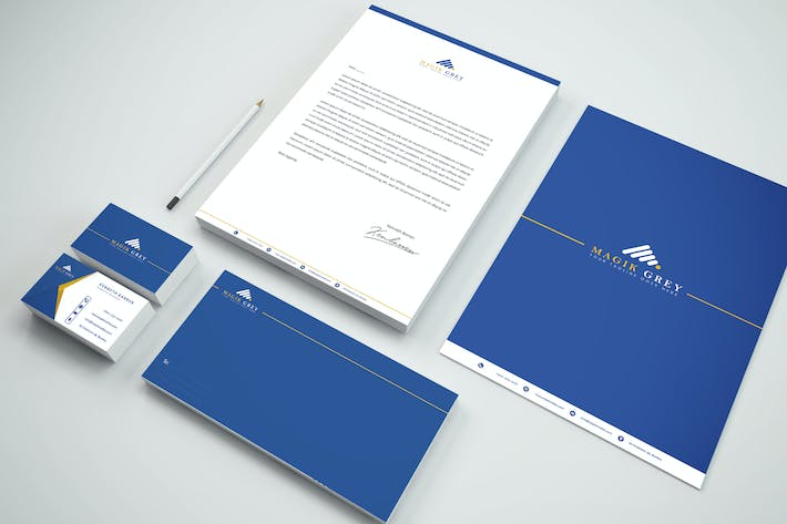 Thumbnail for Business Branding Identity & Stationery Pack