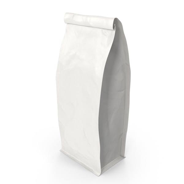 Thumbnail for Flat Bottom Pouche 500g Closed White