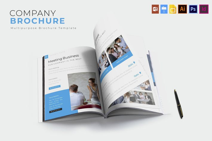 Thumbnail for Company | Brochure Template
