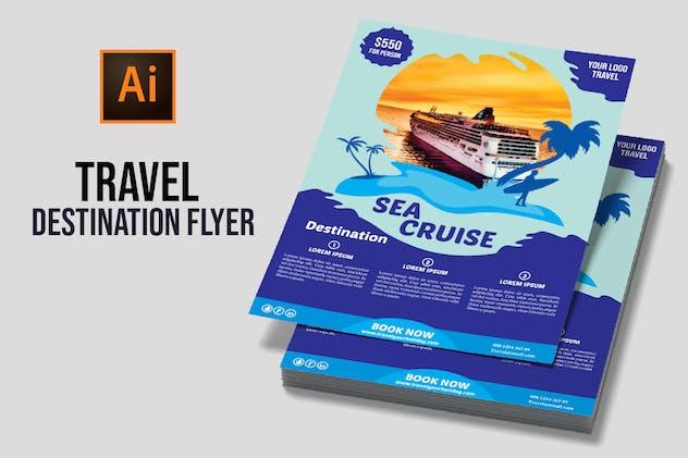 Travel Destination Flyer vol 1