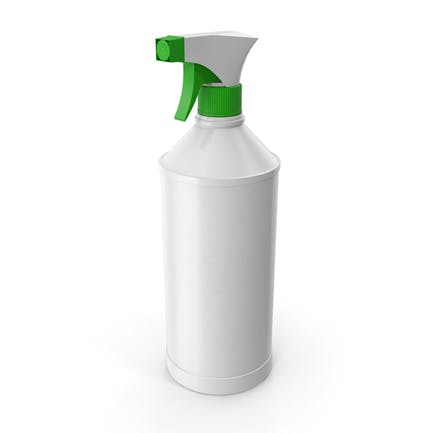 Botella de spray vacía para limpieza