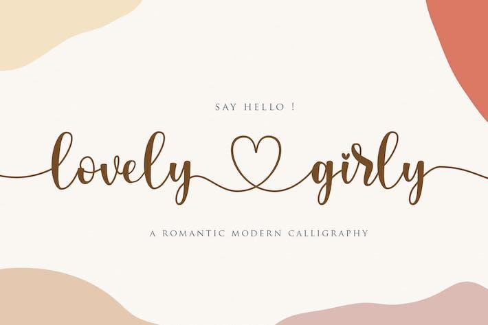 Lovelygirly - Calligraphie romantique