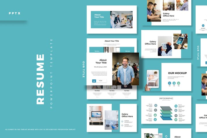 Resume - Powerpoint Template