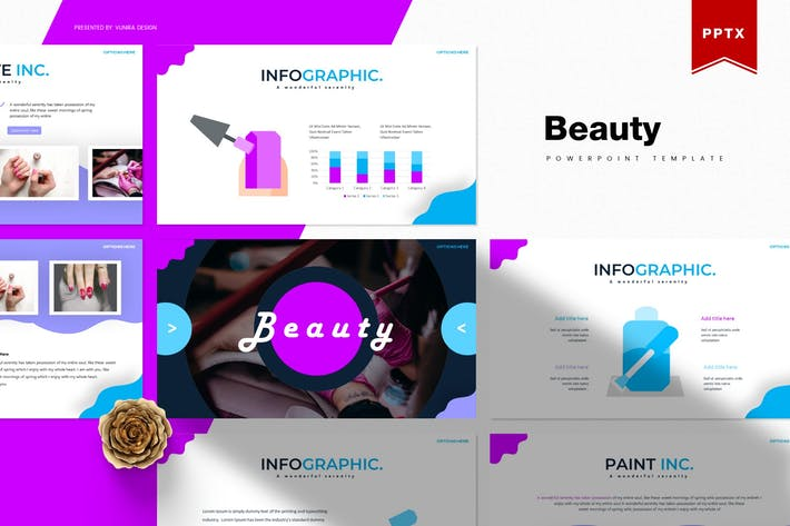 Thumbnail for Beauty | Powerpoint Template