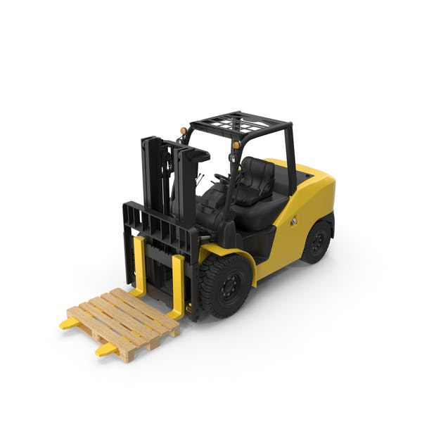 Thumbnail for Wheel Loader With Pallet