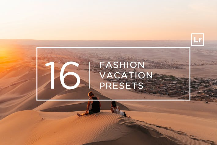 Thumbnail for 16 Fashion Vacation Lightroom Presets