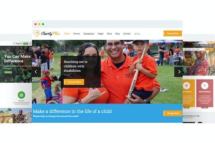 CharityPlus - Multipurpose Nonprofit Charity