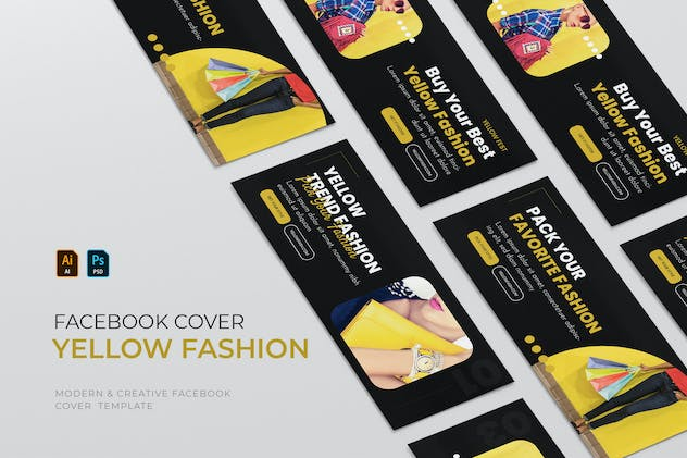 Yellow Fashion | Facebook Cover