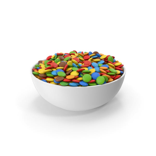 Thumbnail for Sweets Chocolate Candy In Bowl