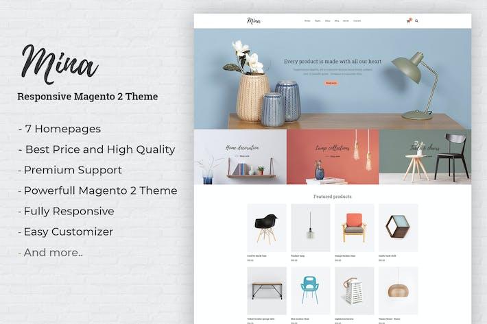 Thumbnail for Mina - Responsive Meubles Boutique Magento 2 Thème