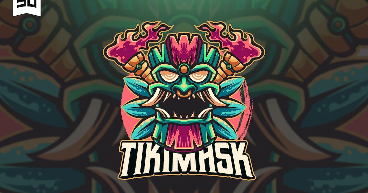 Download Tiki Mask Mascot Logo Design by sandewo