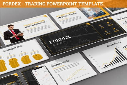 Fordex - Trading Powerpoint Template