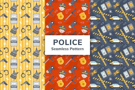Police Seamless Pattern