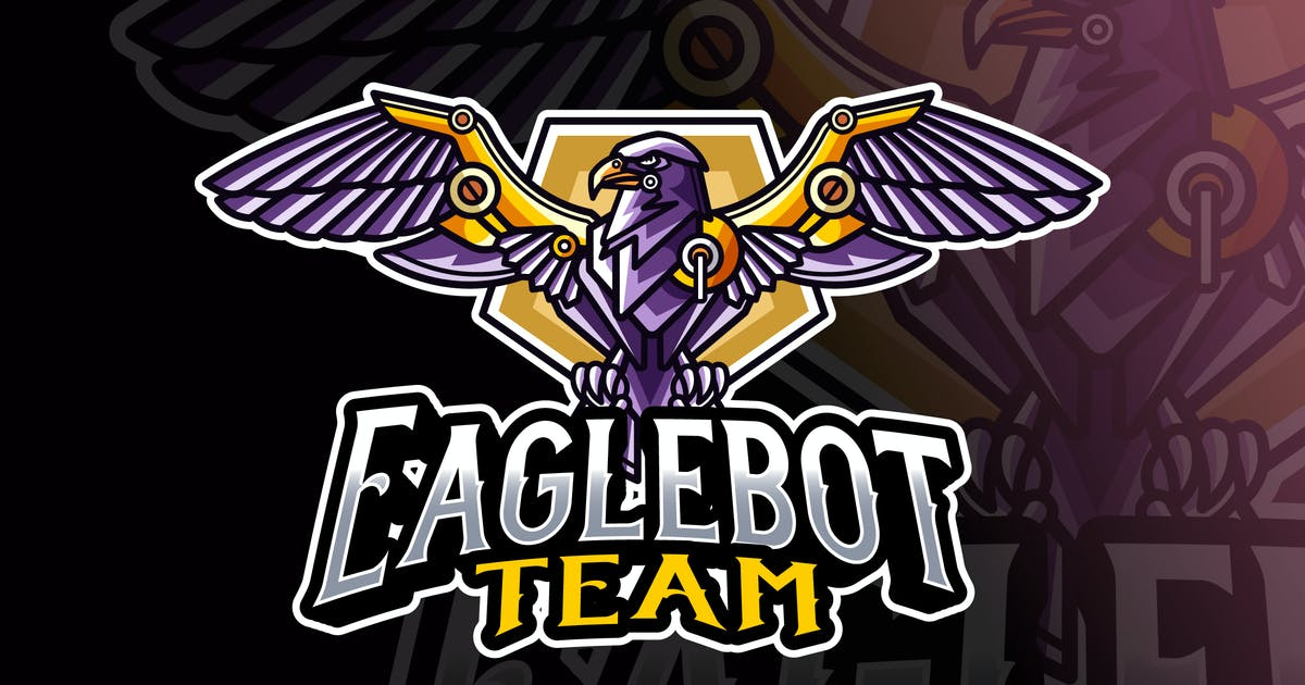 Download Eagle Robot Logo Template by IanMikraz