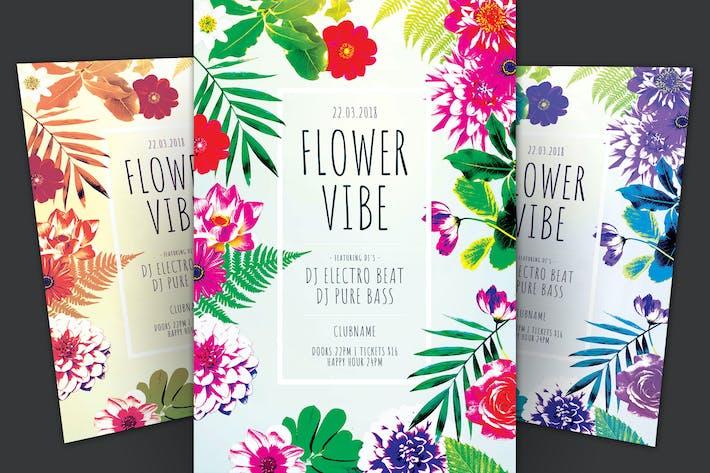 Thumbnail for Flower Vibe Flyer