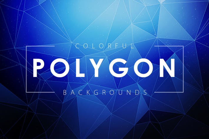 Thumbnail for Colorful Polygon Backgrounds