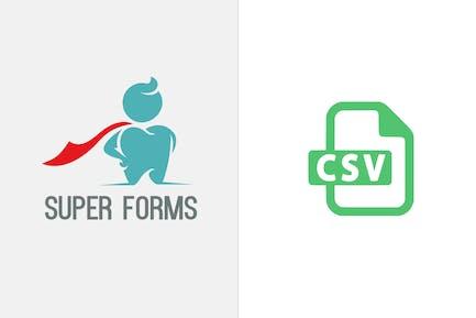 Super Forms - CSV Attachment