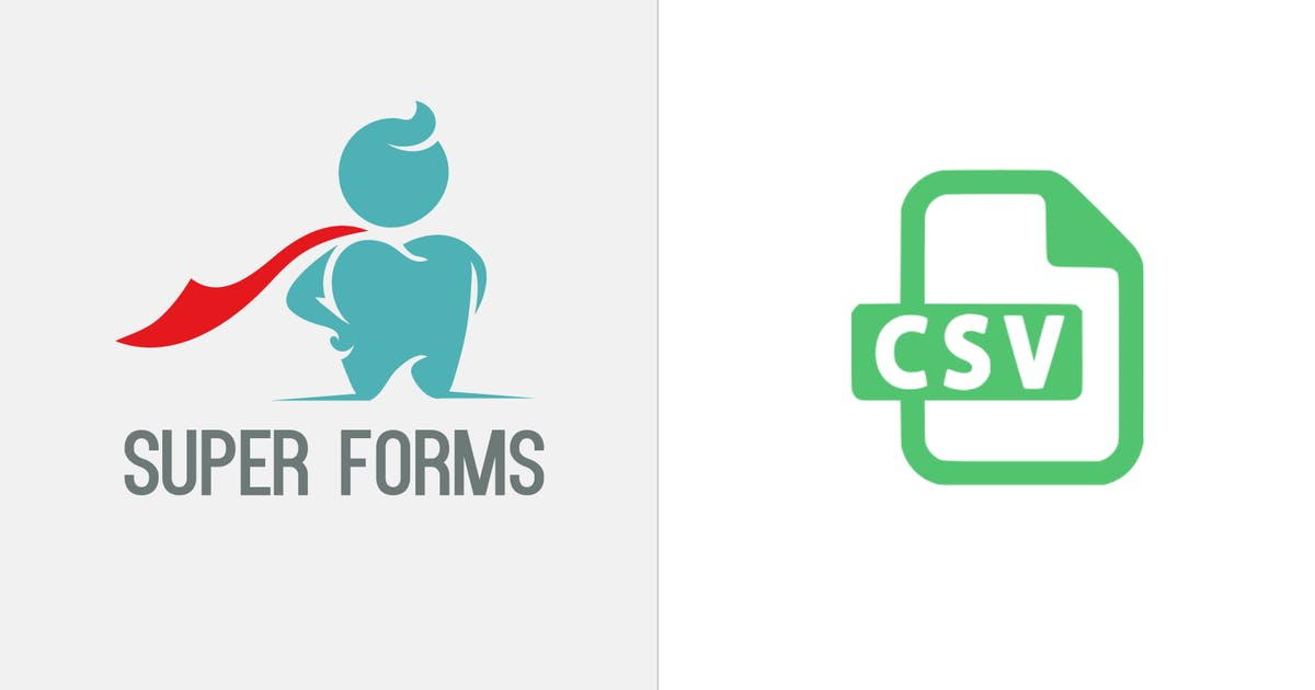 Download Super Forms - CSV Attachment by feeling4design
