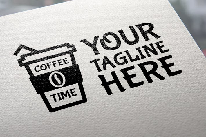 Thumbnail for Coffee Time Logo Template
