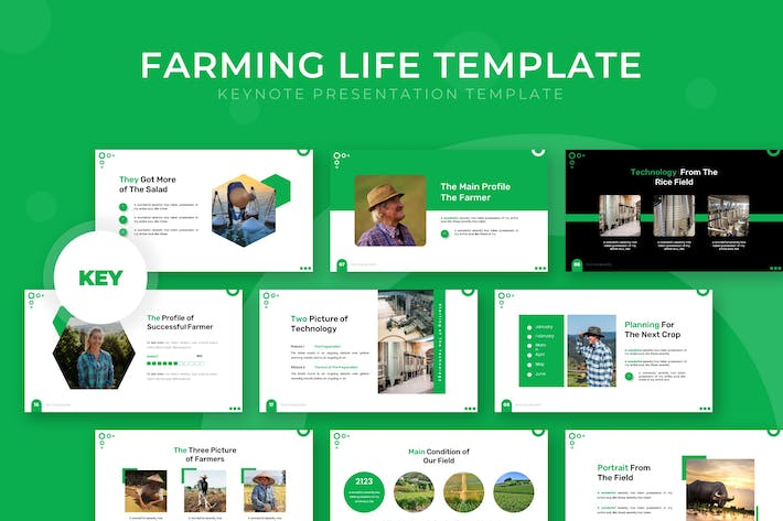 Thumbnail for Farming Life - Keynote Template