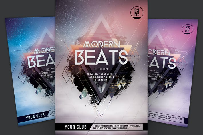 Thumbnail for Modern Beats Flyer