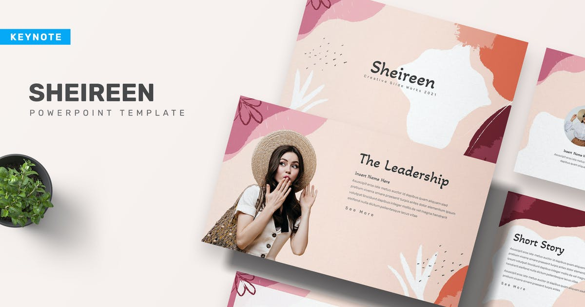 Download Sheireen Keynote Presentation Template by maulanacreative
