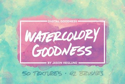 Das Watercolory Goodness Bundle