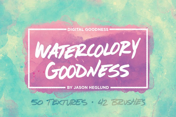Thumbnail for The Watercolory Goodness Bundle