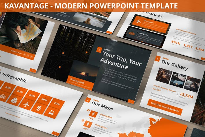 Kavantage - Modern Powerpoint Template