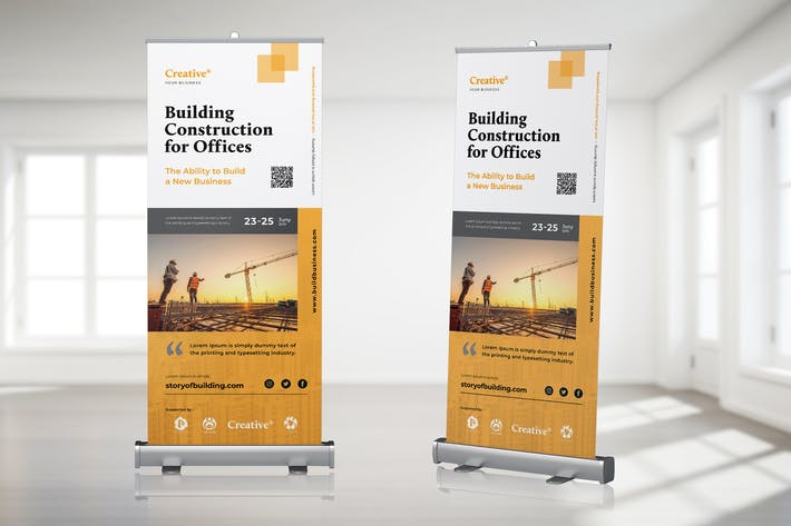 Thumbnail for Roll Up Banner Property Promotion