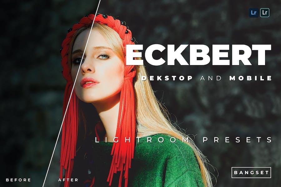 Пресет Eckbert для настольных и мобильных устройств Lightroom
