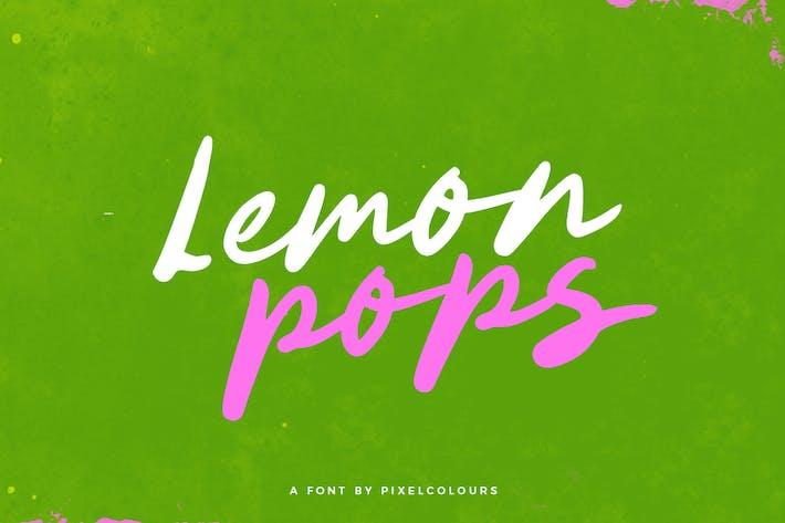 Thumbnail for Lemon Pops Font