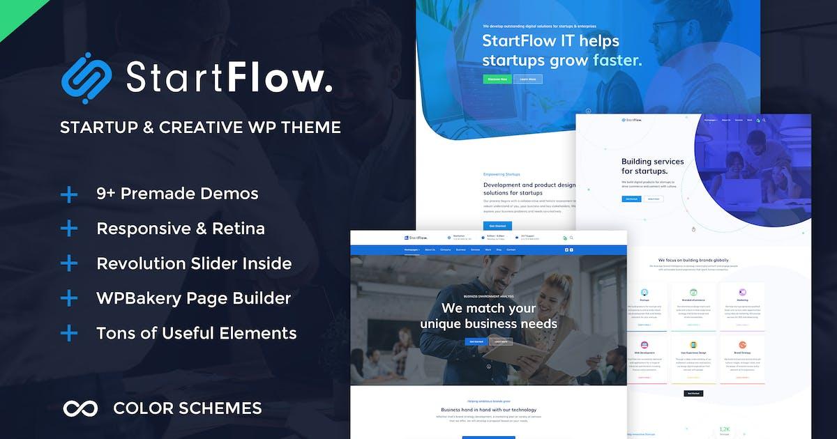 Download StartFlow - Creative Multipurpose WordPress Theme by ninzio