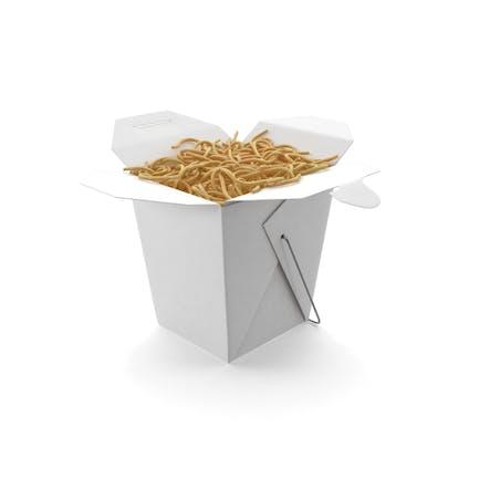 Chinesische Takeout Box