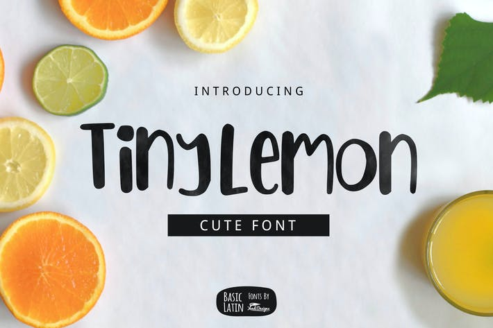 Thumbnail for Tiny Lemon Font