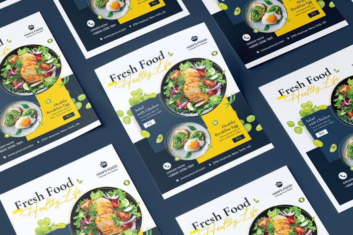 Thumbnail for Fresh Food Flyer