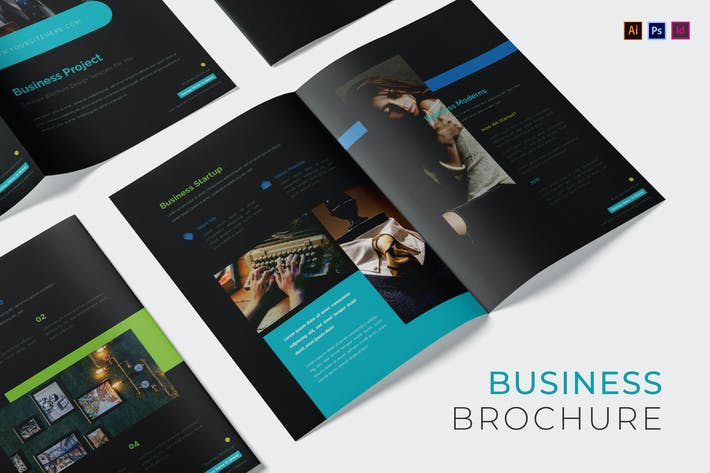 Thumbnail for Broschüre für Geschäftsprojekte