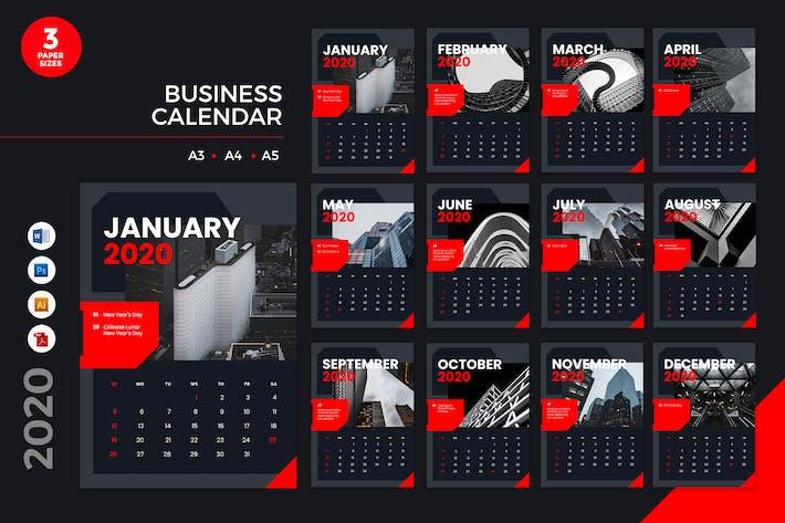 Thumbnail for Calendrier des affaires 2020 - AI, DOC, PSD
