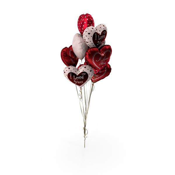 Thumbnail for Heart Balloon Bouquet