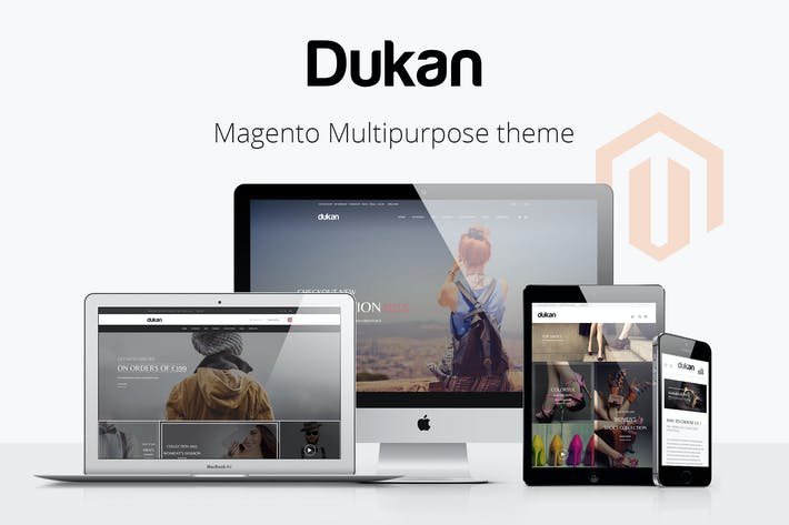 Thumbnail for Dukan - Multipurpose Magento Theme