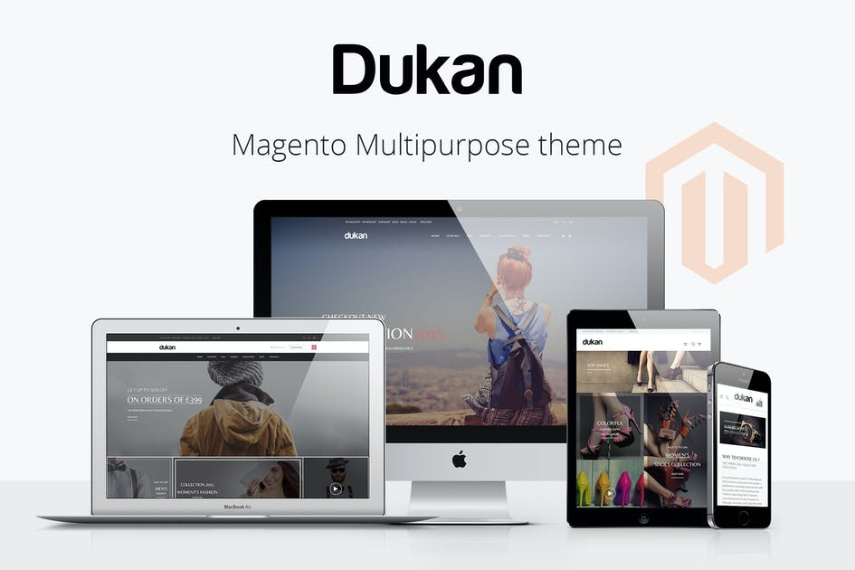 Download Dukan - Multipurpose Magento Theme by ArrowHiTech