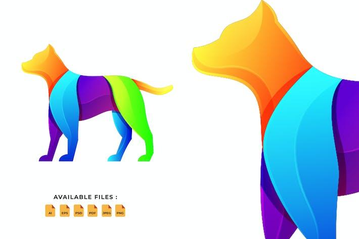 Dog Gradient Logo