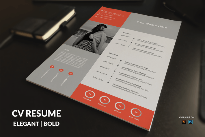 Thumbnail for CV Resume Simple And Professional