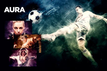 Aura CS3+ Photoshop Action