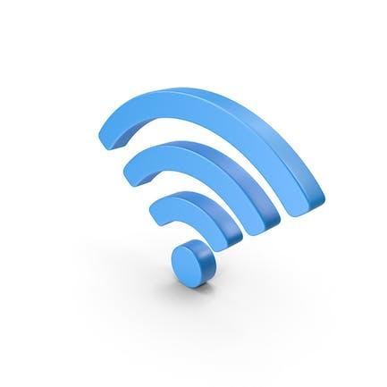 Символ Wi-Fi Синий