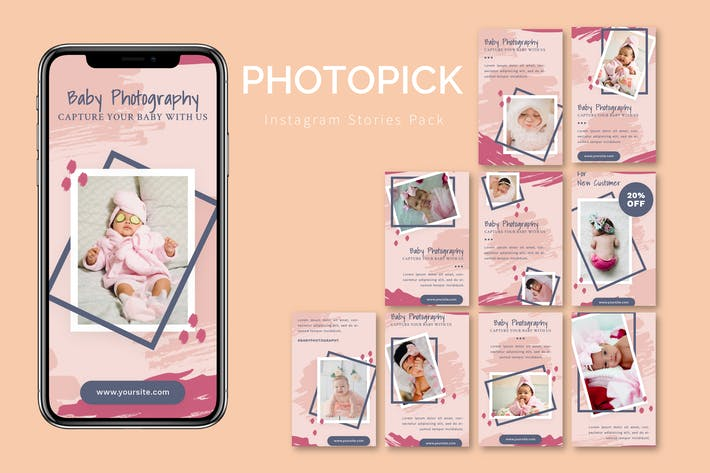 Thumbnail for Фотопик - Instagram Story Pack