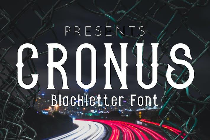 CRONUS - Blackletter font